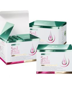 Revolučný LR LIFETAKT 5in1 Beauty Elixir splní všetkých 5 prianí v súvislosti s krásou: mladistvý vzhľad, bezchybná pleť, pevné telo, vitálne vlasy a zdravé nechty