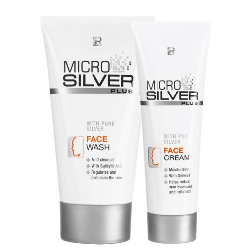 Pleťová séria Microsilver Plus- pri silnejšom akné
