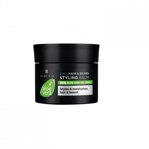 Aloe Vera 2v1 Balzam pre tvarovanie vlasov a fúzov